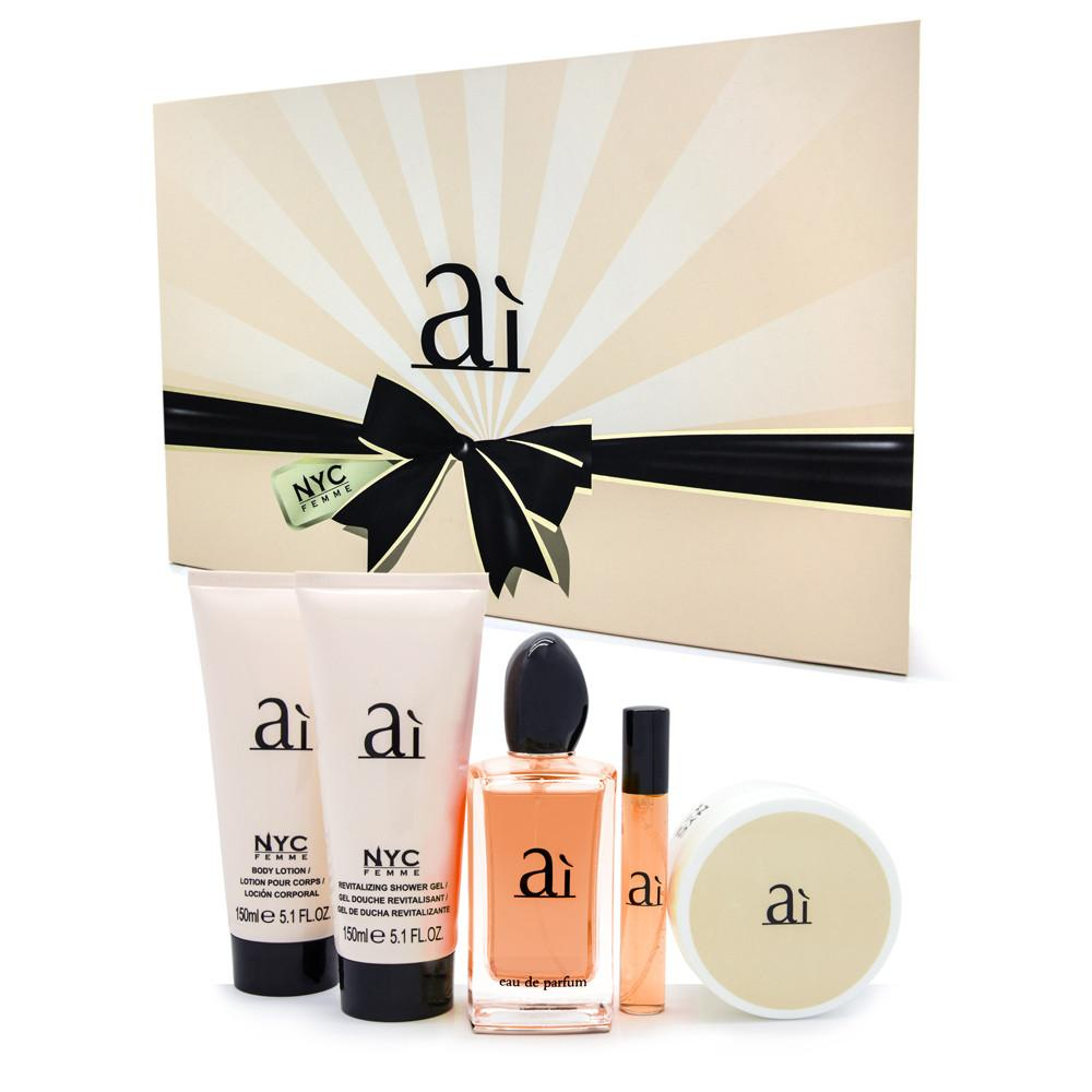 ai--eau-de-parfum-set-100ml--15ml-lady-powder-80g-&nbspperfumed-shower-gel-&amp-body-lotion-150ml